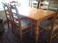 Farmhouse table and chairs WANTED
