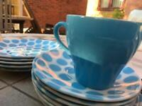 Vintage Collectors dinnerware and teacups by Tams England