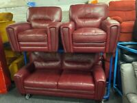 NEW EX DISPLAY LAZYBOY JENNINGS 3 + 1 + 1 SEATER ELECTRIC RECLINER SOFAS 70%Off RRP