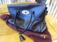 Mulberry Bayswater Handbag, chocolate
