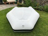 Mercury Inflatable Dinghy 240 air floor excellent condition