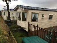 Static caravan . Heads of ayr caravan park . 2013 model