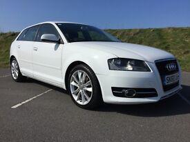 Audi A3 Tdi - 5 Door - Sportback - 140bhp - FSH - Long MOT - £30 Road Tax - 65+mpg