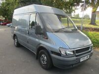53 FORD TRANSIT 2.0 260 SWB TD SEMI HIGH ROOF GREY GOOD TYRES TRACTION PLYLINED TOWBAR PX SWAPS