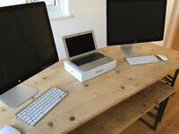 Apple Display, Apple MacBook Air + Apple Wireless Keyboard & Mouse (HUGE BUNDLE)