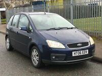 2006 FORD FOCUS CMAX GHIA AUTOMATIC 2.0 MPV ++68K ++7 SERVICE STAMPS++5 DOOR FAMILY CAR++BARGAIN++