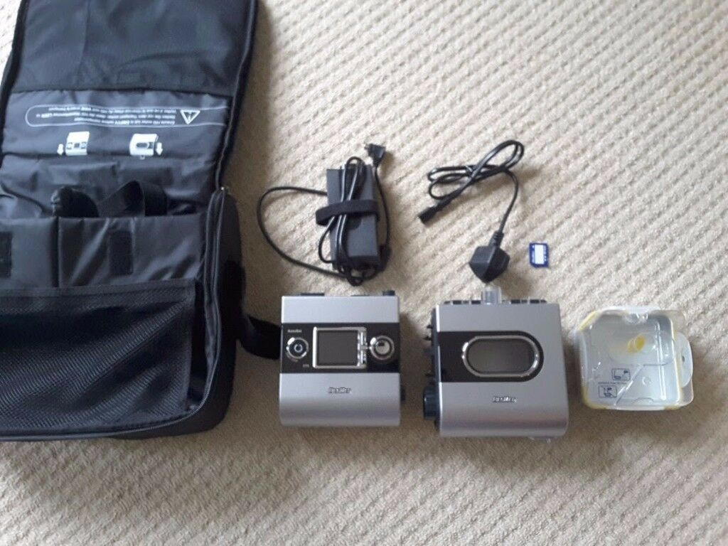 Resmed S9 Autoset EPR CPAP + Humidifier + Bag + Mask - all in great condition