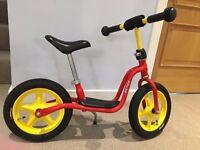 Children's Puky LRM balance bike - red