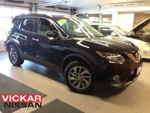 2015 Nissan Rogue SL/LEATHER/NAVI/1 OWNER LOCAL TRADE!!