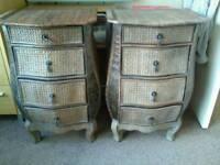 Rattan chest X 2