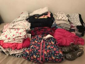 Girls clothes 3-4 4-5 over 70 items!