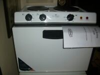 baby belling work top cooker