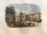 Ramsgate mounted and framed print, titled, St Lawrence Ramsgate