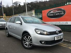 2011 11 Volkswagen Golf 1.6 TDI BlueMotion Tech Sportline 5dr Turbo Diesel Manual Estate