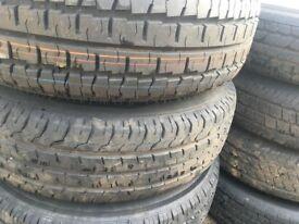 Ford transit tyres + rims 215/75R16C   brand new