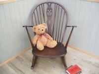 Stunning Ercol Fleur-De-Lis Rocking Chair