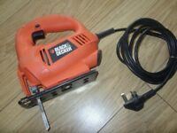 Black & Decker KS500 400W Electric Corded Jigsaw - Good Used Condition - Full Working Order