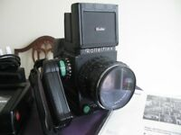 Rolleiflex 6008 Intergral with 3 PQ lenses and much more