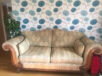 Large sofa ,dining Table and Coffee table for sale