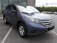 2012 Honda CR-V LX 4dr All-wheel Drive. Great on fuel, and big e