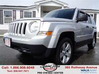 2012 Jeep Patriot Sport/North 4x4 $107.26 BI WEEKLY!!!