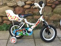 Child's bike aged 3-5 Apollo Lulu - As new condition