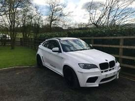BMW X6 3.5 twin turbo wide arch Hammond may part x PX