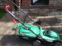 lawnmower and strinmer