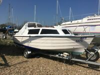 Mayland 20 Cruiser, Fishing boat with 50hp outboard & trailer
