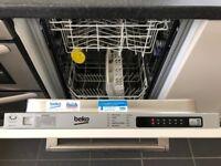 Beko DW451 Slimline 10 Place Setting Fully Integrated Dishwasher