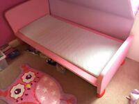 Ikea Mammut Kid's Bed - Pink