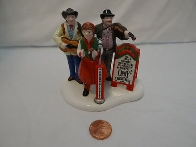 Dept 56 Snow Village Grand Ole Opry Carolers Figurine 54867 Christmas Country
