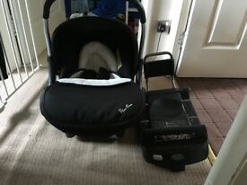 Venture plus car seat and base