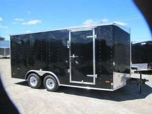 2017 RC  Trailers 8.5'X16' V-NOSE ENCLOSED CARGO TRAILER