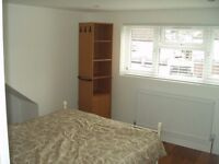 Newly refurbished loft studio with separate kitchen in Kingsbury. Rent includes all bills.