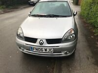 RENAULT CLIO DIESEL £30 ROAD TAX YEAR 2006 £995 WE TAKE PART EXCHANGE