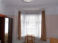Spacious double bedroom in shared house, single occupancy