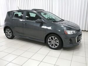 2018 Chevrolet Sonic RS LT TURBO 5DR HATCH w/ HEATED FRONT SEATS