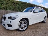 2011 BMW X1 M-SPORT WHITE MANUAL 2.0D
