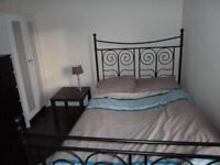 Festival let double bedroom available for immediate rent till end of August at Oxgangs Crescent.
