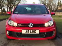 VW Golf GTI 2012 '61' Red Automatic 57,000 miles