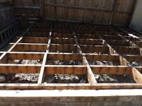 Joists for Garden Use