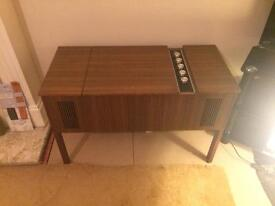 Vintage HMV model 2417 Gramophone Garrard Turntable 2025 TC 1970's