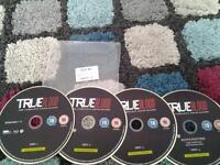blu ray new complete 6 season true blood £3