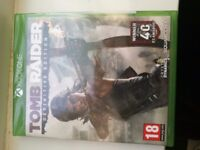 tomb raider... definative collection. sealed