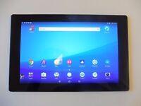 Sony Xperia Z2 10.1 Tablet Wifi 16GB 3GB Ram + BLACK CASE