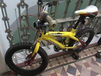 Child's bike suit age 3-6