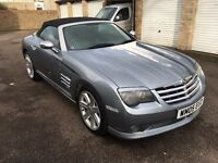 Chrysler Crossfire Convertible 3.2 v6 auto automatic full service history stunning car 42k miles!!