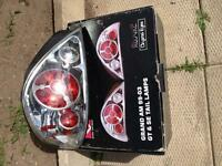 Clear grand am tail lights