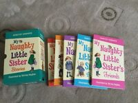 Box set of My Naughty Little Sisiter Stories 5 books